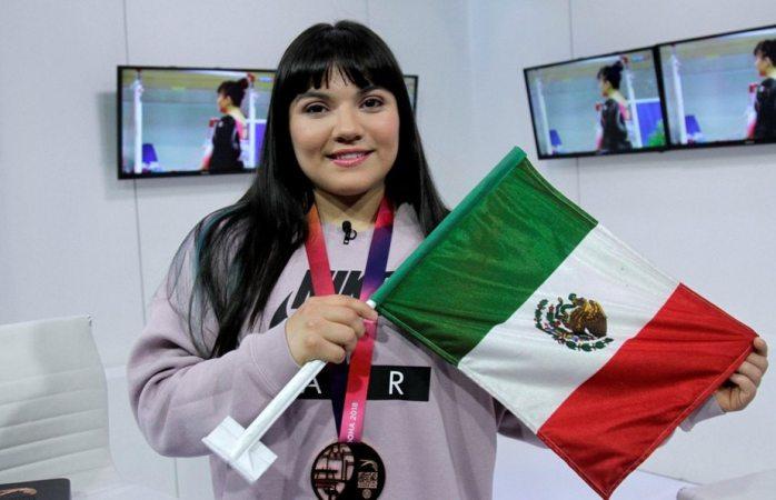 Encabeza Alexa Moreno equipo rumbo a copa del mundo de gimnasia