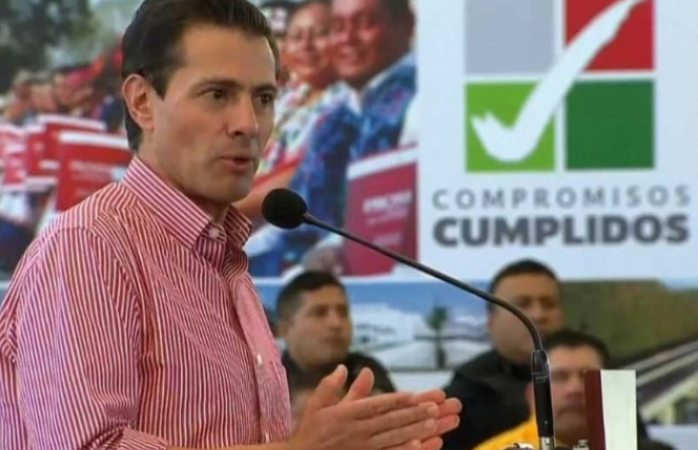 Asegura Peña Nieto que cumplió el 97% de compromisos