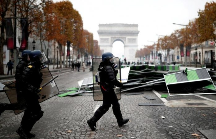 Venezuela expresa su preocupación por los hechos violentos en Francia