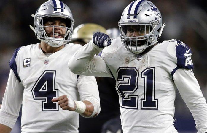 Cowboys corta racha de Saints