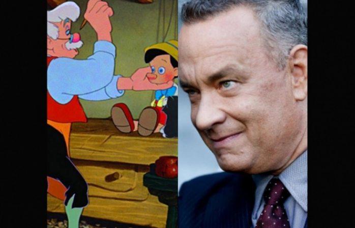 Tom Hanks podría darle vida a Geppetto en nueva cinta de