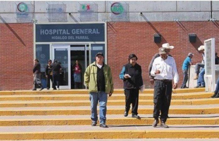 Ya ni tienen para guantes en hospital general de parral