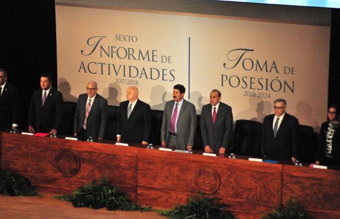 Inicia último informe del rector de la UACJ Ricardo Duarte Jáquez