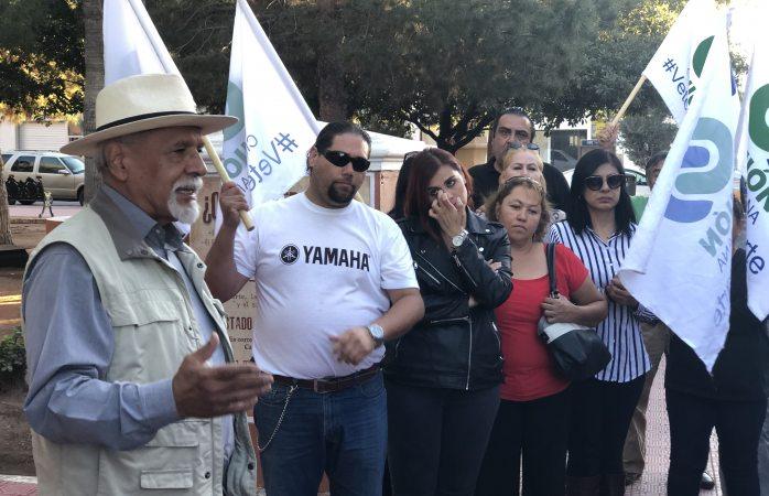 Protesta unión ciudadana por corrupción en gobierno de Corral