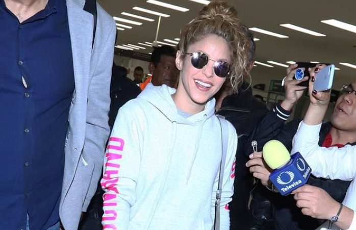 Llega Shakira lista para sus conciertos en México
