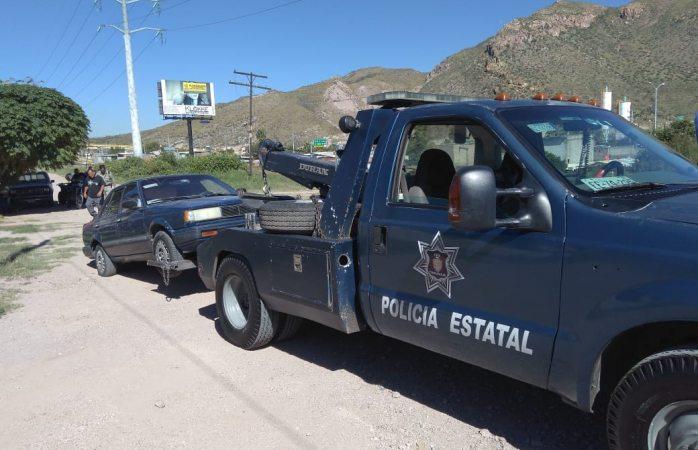 Encuentran vehículo robado en la Popular
