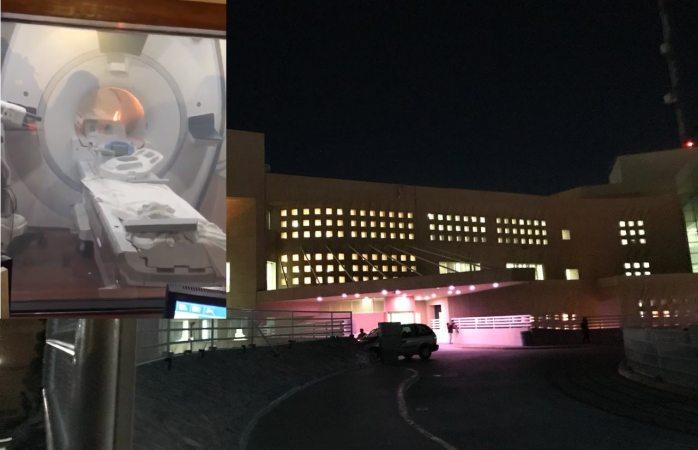 Evacuan clínica 66 del Imss por incendio en tomógrafo