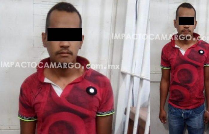 Detienen policías a manoseador de mujeres en Camargo