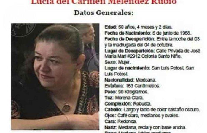 Desaparece cantante y empresaria Lucy Meléndez