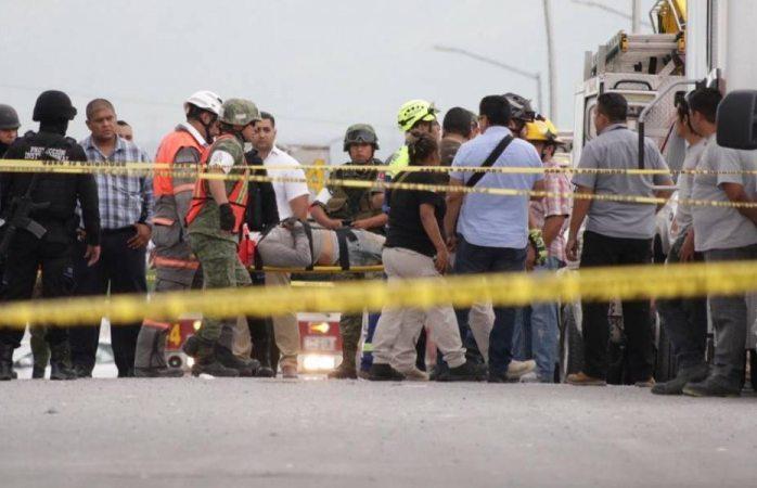 Sube a 7 el número de muertos por derrumbe en Monterrey