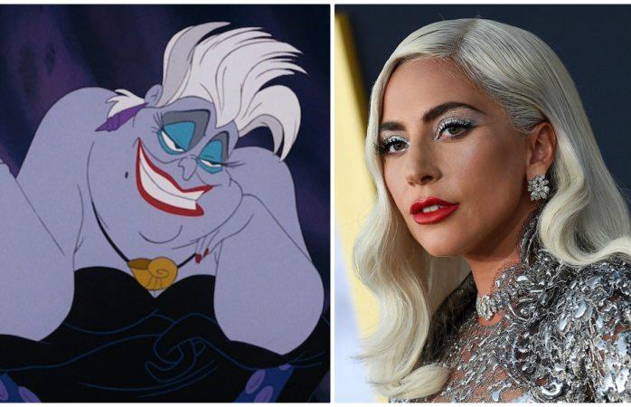 Podría ser Lady Gaga Úrsula de la sirenita