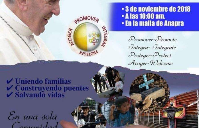 Oficiarán misa binacional por los migrantes difuntos