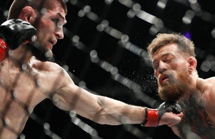 McGregor y Nurmagomedov son suspendidos tras trifulca