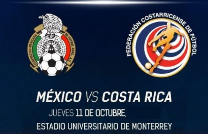 Hoy juegan México vs Costa Rica a las 7:30