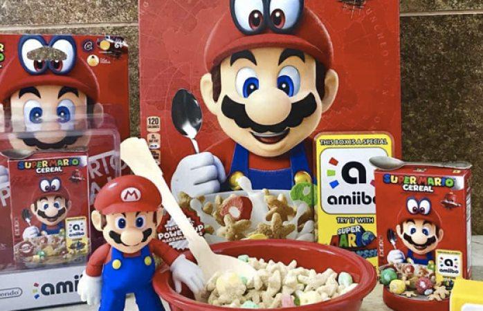 El super mario cereal ya esta disponible en México