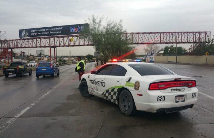 Cerrará tránsito calles que se inunden por lluvias en Juárez
