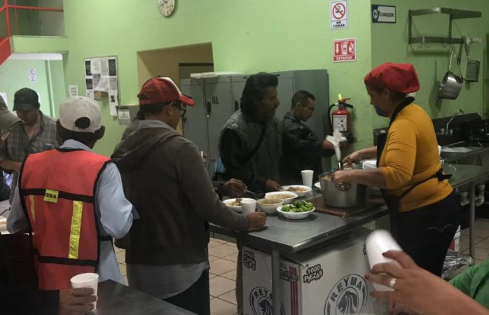 Seguirá abierto comedor comunitario del centro hasta medio día