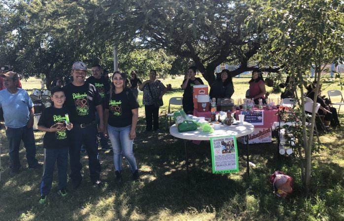 Recaudan fondos con kermés para apoyar a niños con cáncer