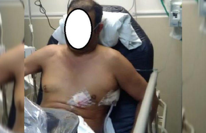 Investigan en torno a herido de bala en una gasolinera del municipio de Julimes