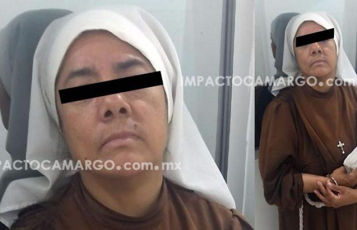 Dejan en libertad a monja detenida que por engañar a adultas mayores