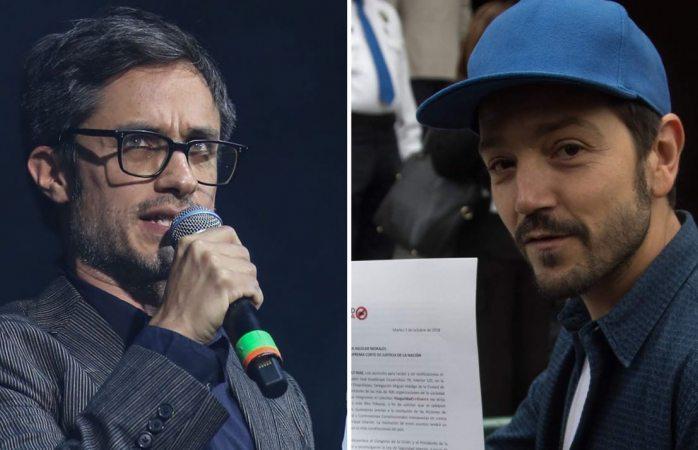Gael García y Diego Luna ganan demanda a Johnnie Walker