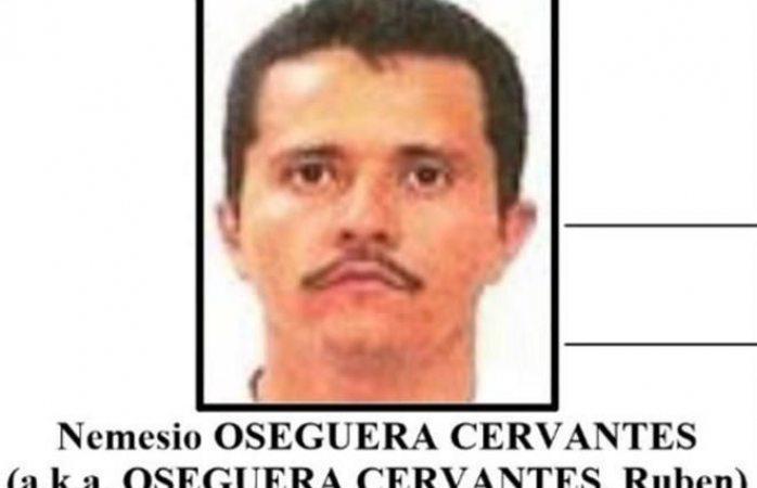 Ofrecen 10 mdd por el Mencho, líder del cártel de Jalisco nueva generación