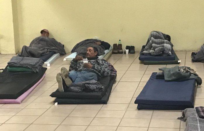 Pasaronla noche más de 25 personas en albergue municipal