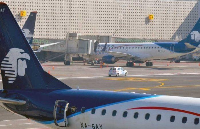 Aeroméxico retira 5 aviones y suspende rutas para 2019