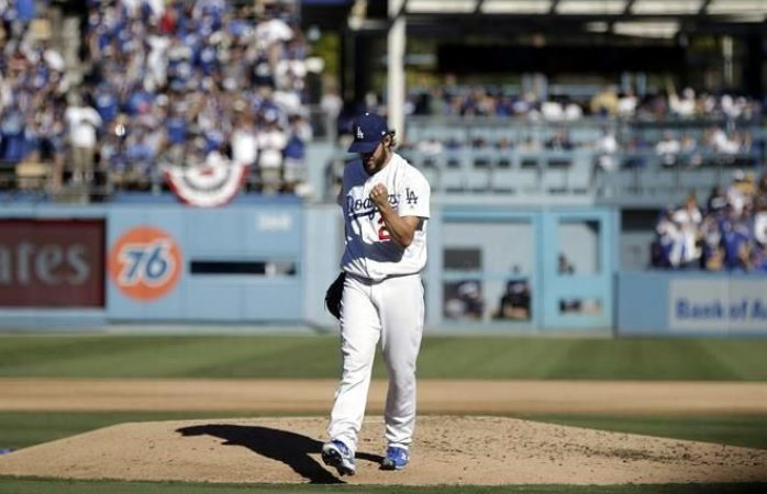 Acerca Kershaw a dodgers a serie mundial