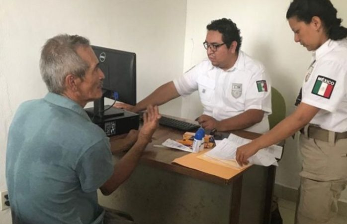 Inicia SRE atención de solicitudes de refugio de caravana migrante
