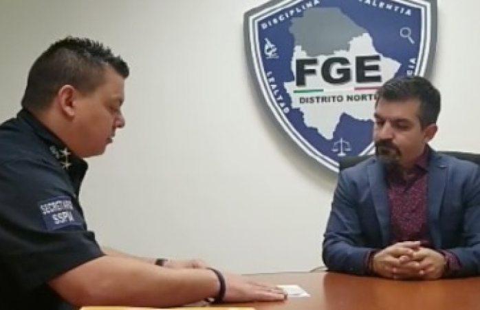Presenta sspm denuncia formal ante fge por caso de tortura policial