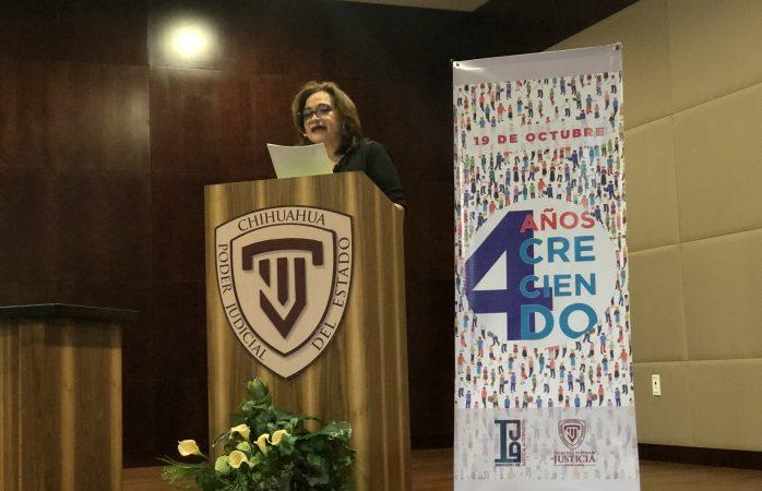 Conmemora TSJ con conferencias 4to año de instituto de justicia alternativa