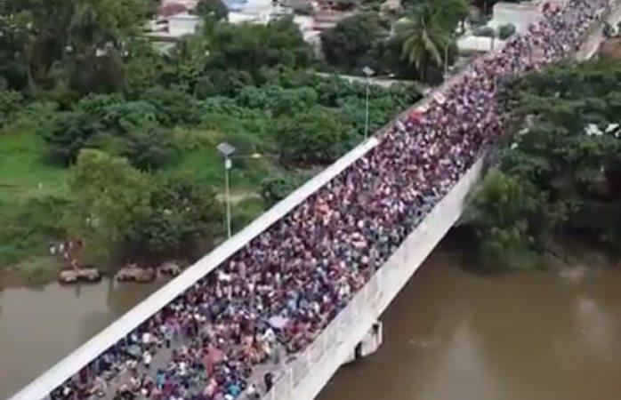 Se suman aquí a iglesia en apoyo a migrantes hondureños