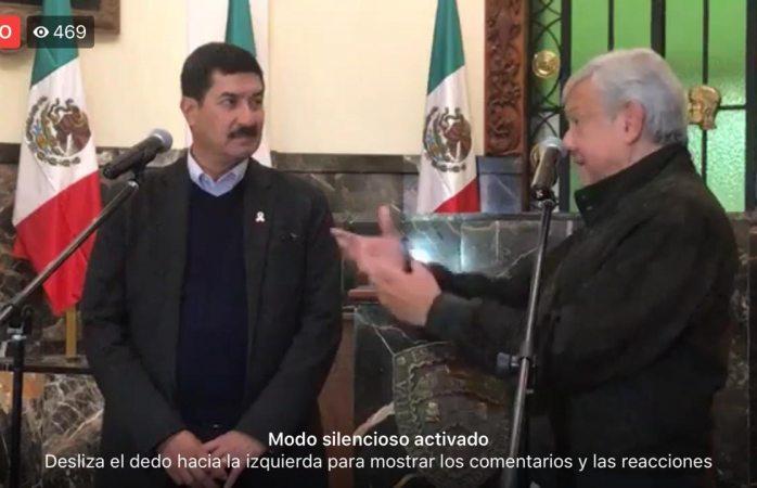 No habrá más robos ni corrupción: López Obrador