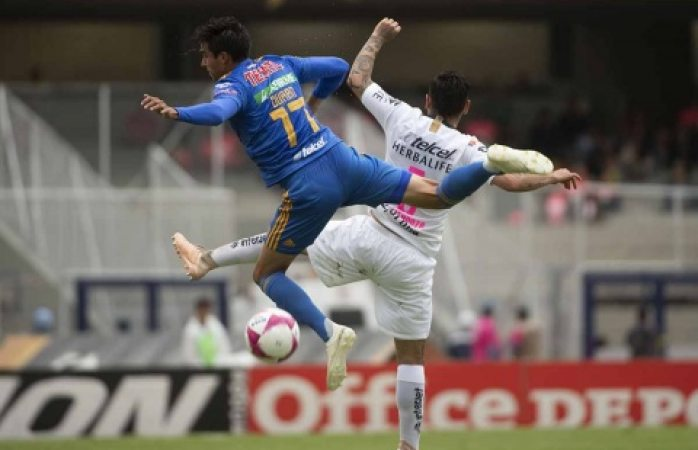 González socorre a Pumas frente a Tigres