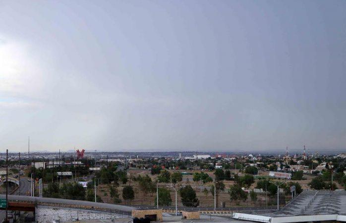 Alerta amarilla por tormentas eléctricas y lluvias en Juárez