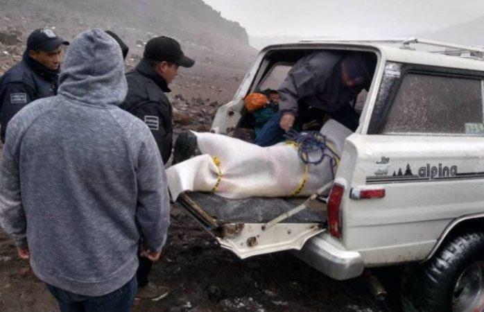 Mueren tres alpinistas en el pico de orizaba