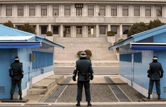 Retirarán armas de frontera coreana