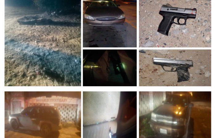 Abaten policías a sicario de los mexicles en tierra nueva