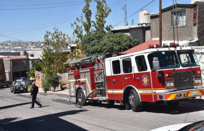 Se incendia casa en Infonavit Mezquite