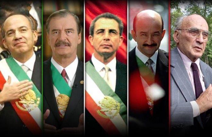 Quitarán pensión a ex presidentes
