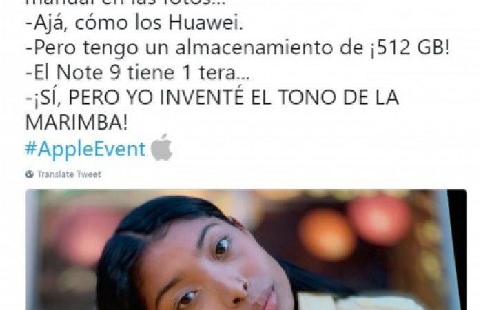 Se burlan Huawei y Samsung de Apple