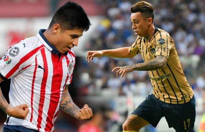 Jugarán Chivas contra Pumas en octavos de Copa Mx