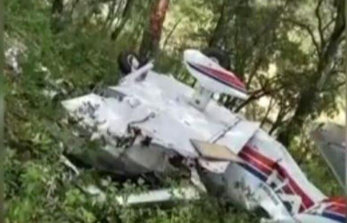 Se cae avioneta en Querétaro