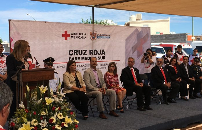 Construirá Cruz Roja cuarta base en la ciudad