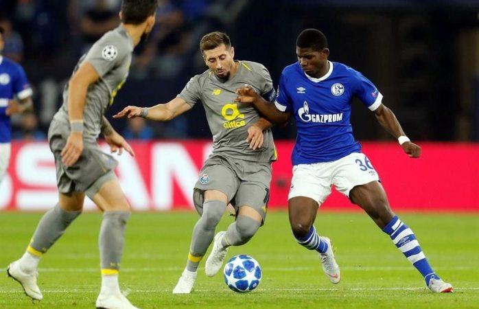 Rescata Porto el empate ante Schalke 04