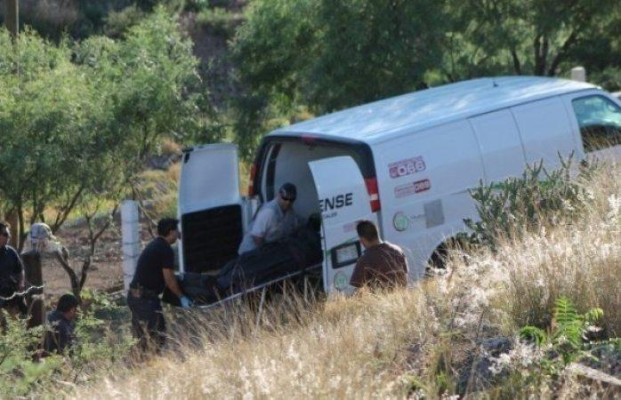 Tiran cadáver en salida a Casas Grandes