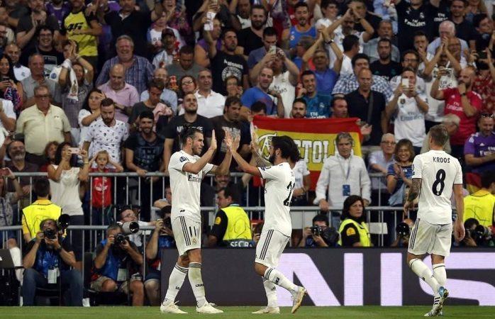 La Roma no dio problemas al Madrid