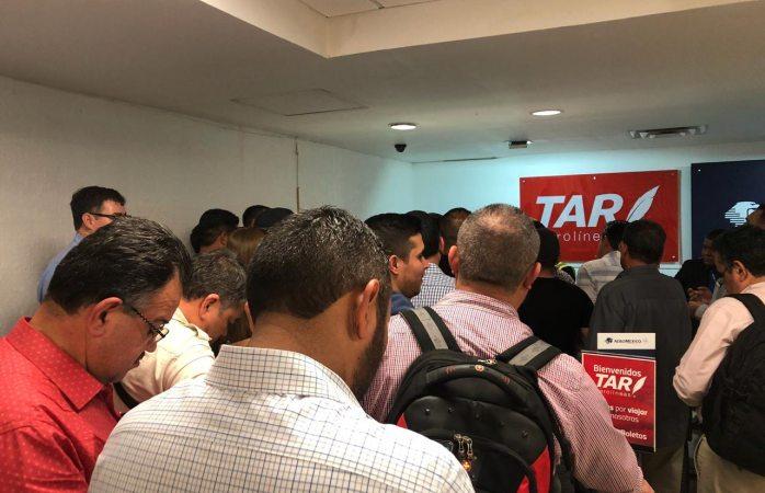 Varados cerca de 30 pasajeros de la aerolínea TAR en Chihuahua