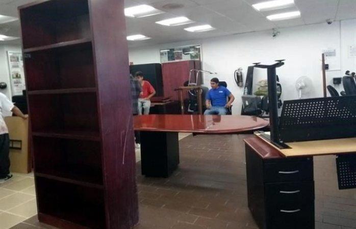 Vacía PRI oficinas asignadas a Morena en cámara